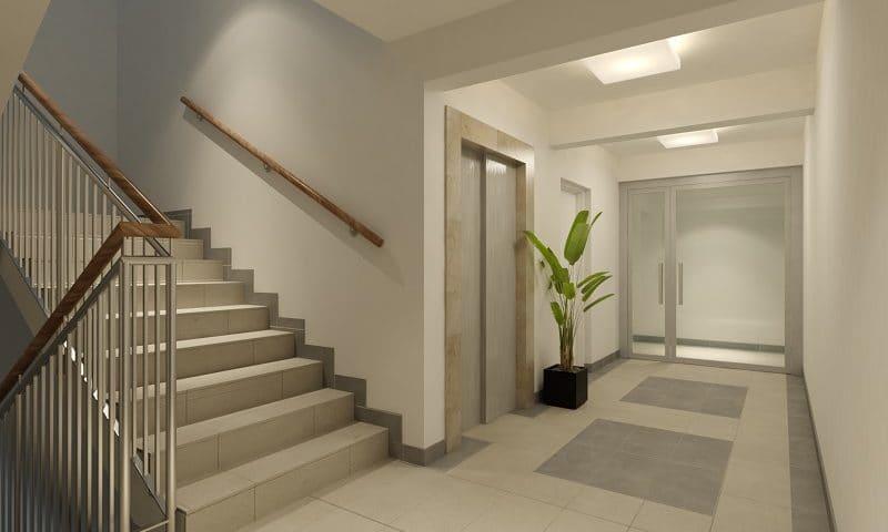 Aranżacja klatki schodowej