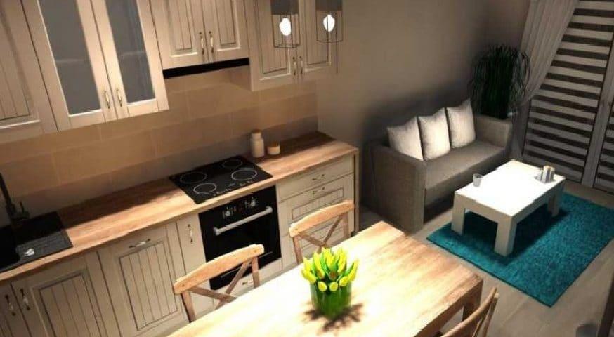 Małe mieszkanie to dobry wybór na starcie do dorosłego życia