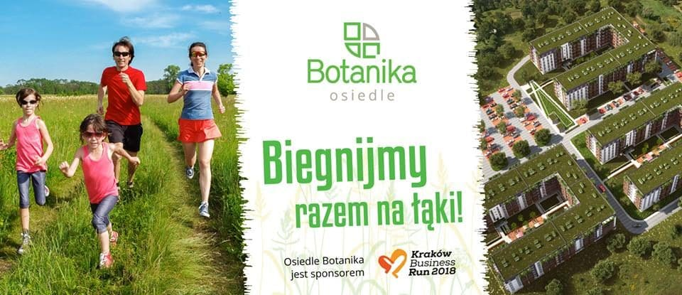 Osiedle Botanika sponsorem Kraków Business Run 2018